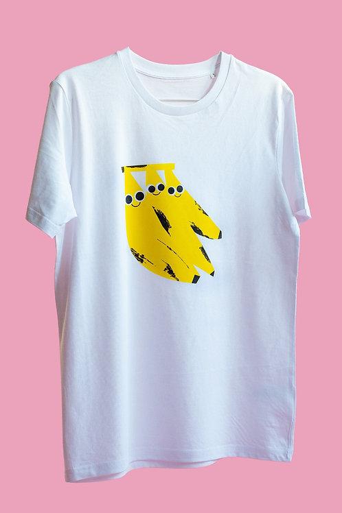 "T-Shirt ""Happy Bananas"" Teil 1"