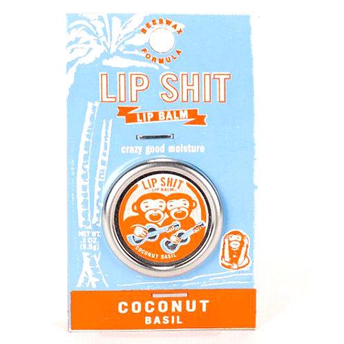 Lip Shit Coconut Basil