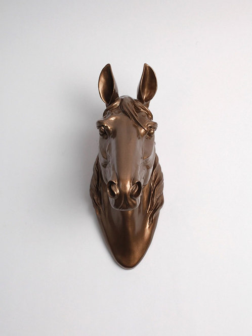 Horse Head - Large - Bronze