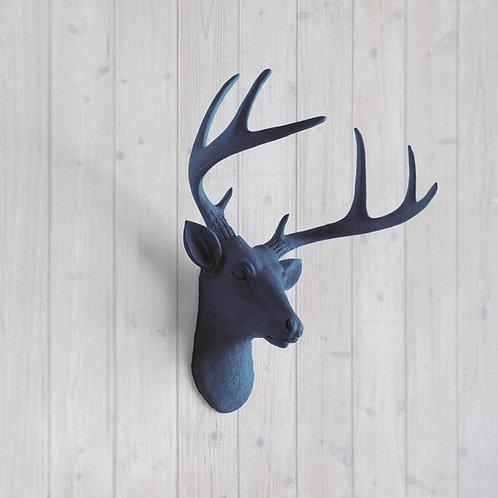 Deer Head - Large - Navy