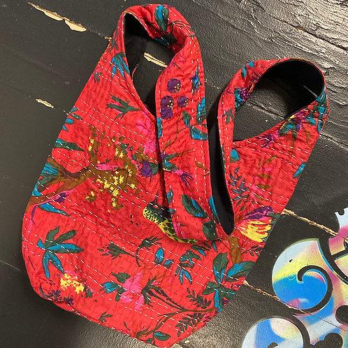Cotton Cross Body/Shoulder Bag