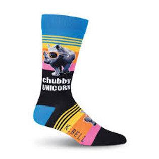 Chubby Unicorn Socks