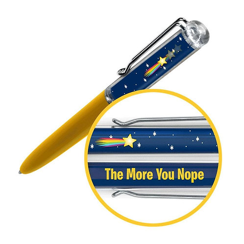 Write Side Up Pen - Shooting Star