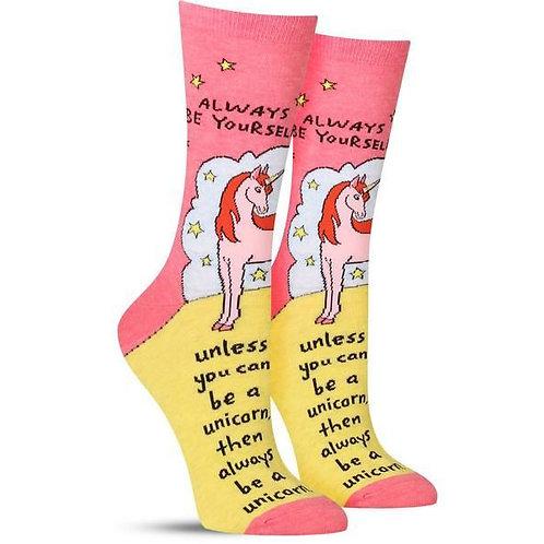 Alway Be Yourself... Socks