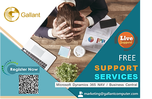 Free Support Service - Microsoft Dynamics 365 NAV / Business Central