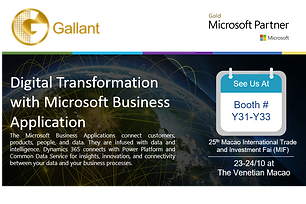 Digital Transformation with Microsoft Business Application