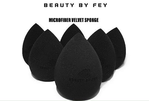 Beauty By Fey Microfiber Velvet Sponge