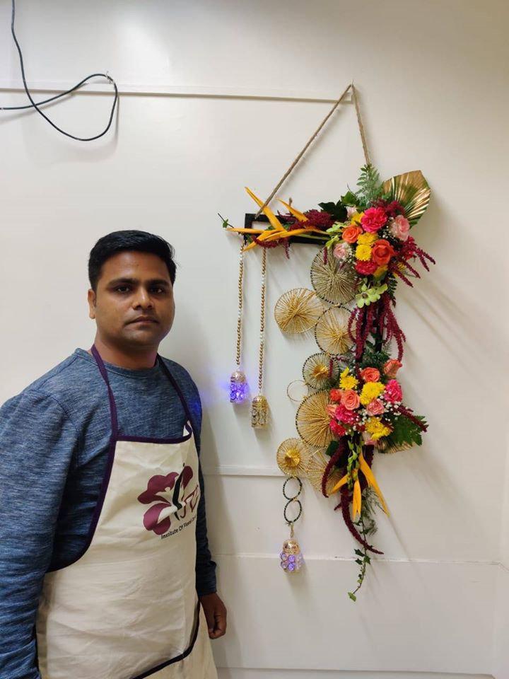Diwali Festival Floral Decor (With Kit)