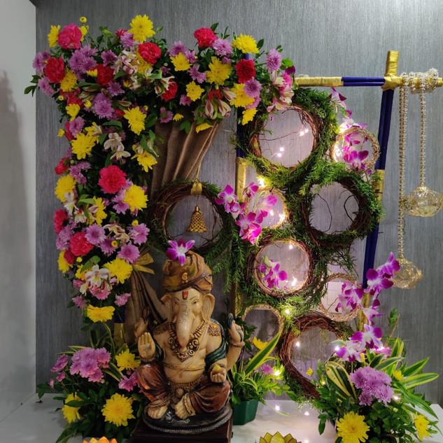 Ganpati Flower Decoration Workshop