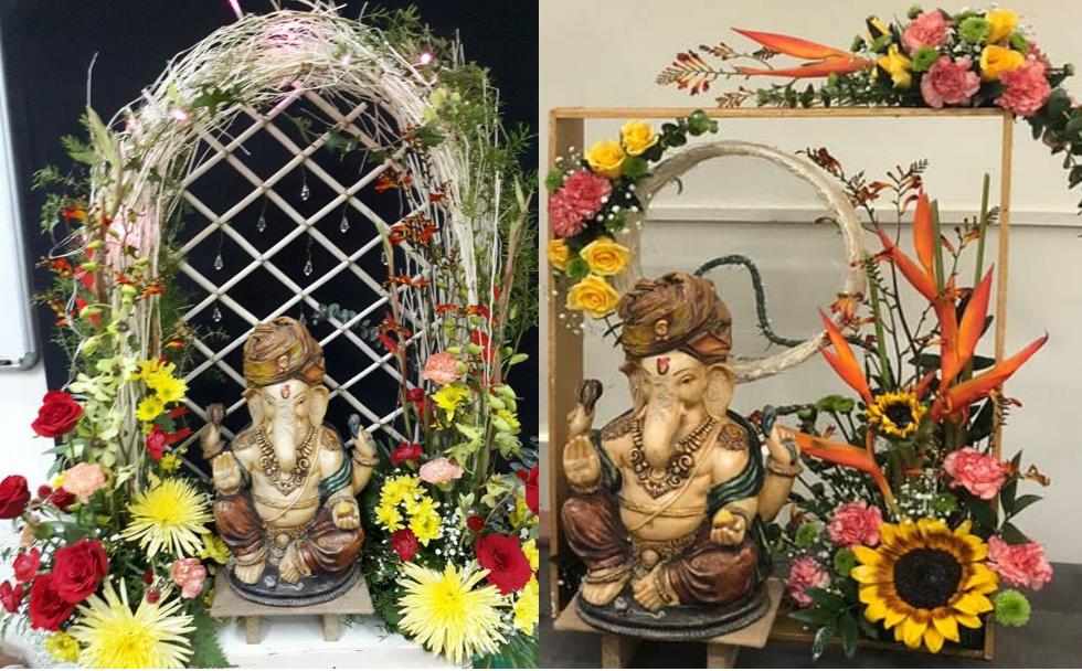 Ganpati Festival - Floral Decor