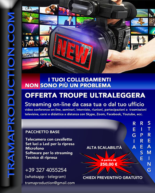 Offerta Troupe Riprese Streaming.jpg