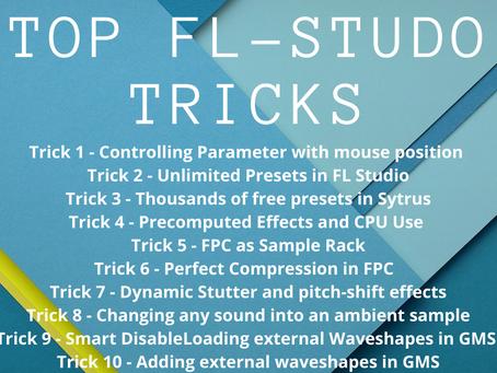 Top 10 FL Studio 20 Tips and Tricks 2021 - Music Production Tutorials