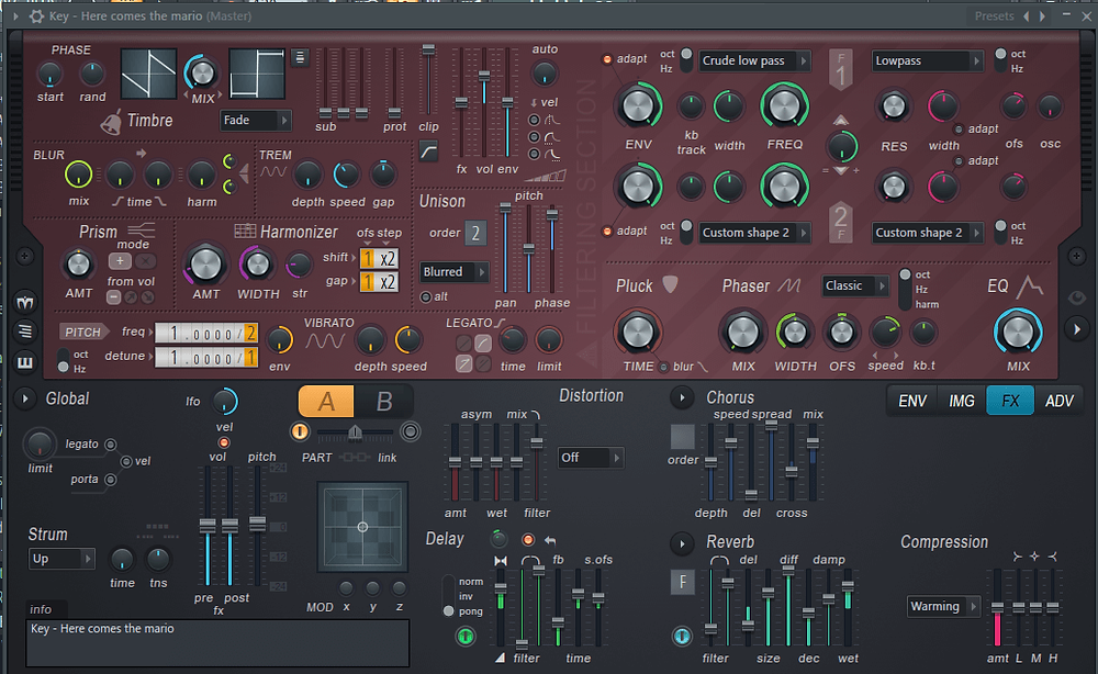 Free Harmor Presets - Voice Leads and Image Resynthesis