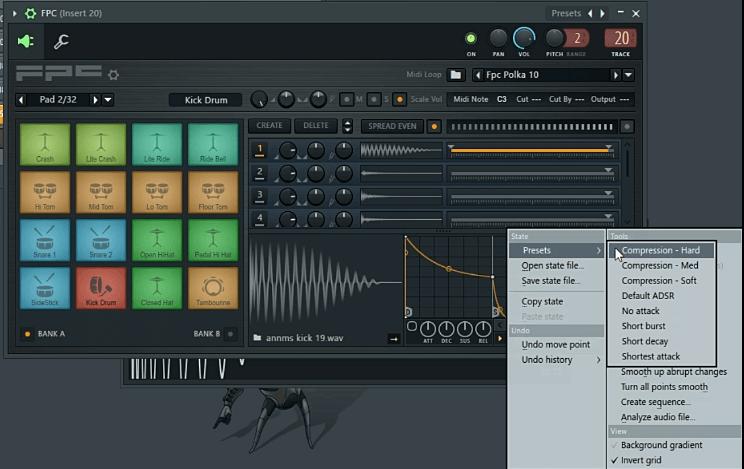 FL Studio FPC Drum tutorial - Compression