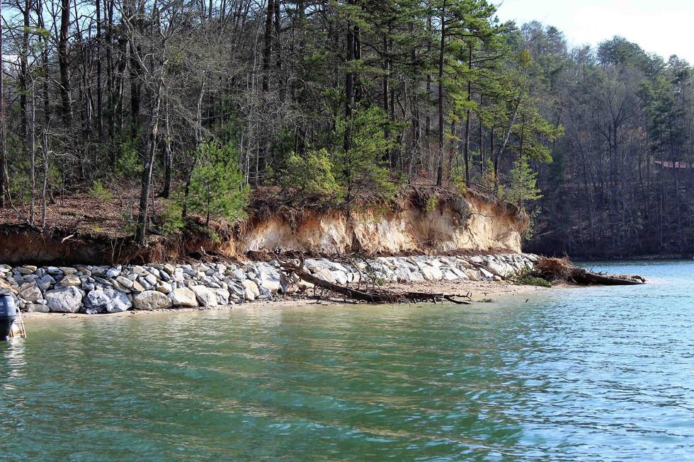 Island Riprap Project