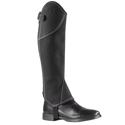 B Vertigo Milan Leather Half Chaps