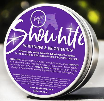 SHOWHITE Shampoo Toner for HORSES- 'Touch up Tin'