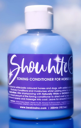 SHOWHITE- Toning Crème Conditioner for Horses & Hounds