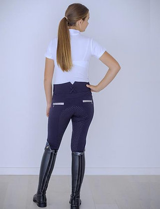 LULU Navy coolmax with glitter breech -high waist
