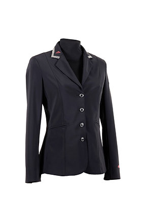 Lady horse riding jacket tech fabric, model ALTEA PREMIUM