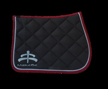 Makebe Logo Saddle Pad