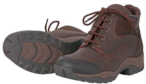 Cavallino Leather Lace Farm Boots
