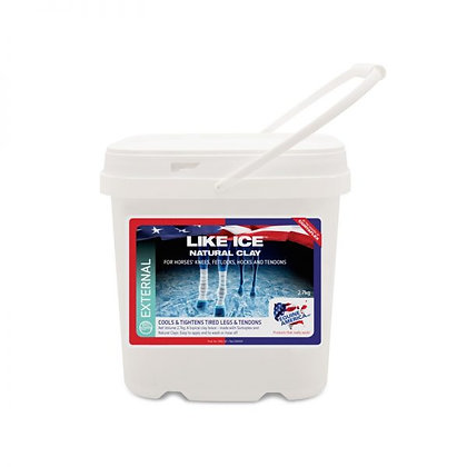 LIKE ICE NATURAL CLAY 2.7KG POULTICE