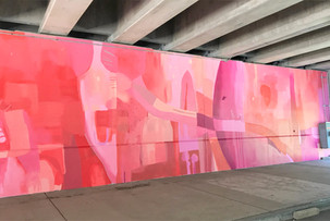 Portion of final mural