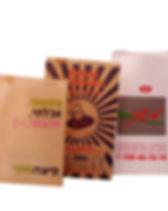 שקיות מנייר דוחה שומן מודפסות לקוח - סלט