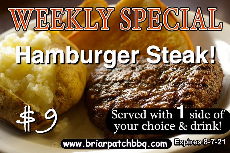 Weekly Special - Hamburger Steak $9.png