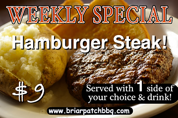 Weekly Special - Hamburger Steak Special $9.png