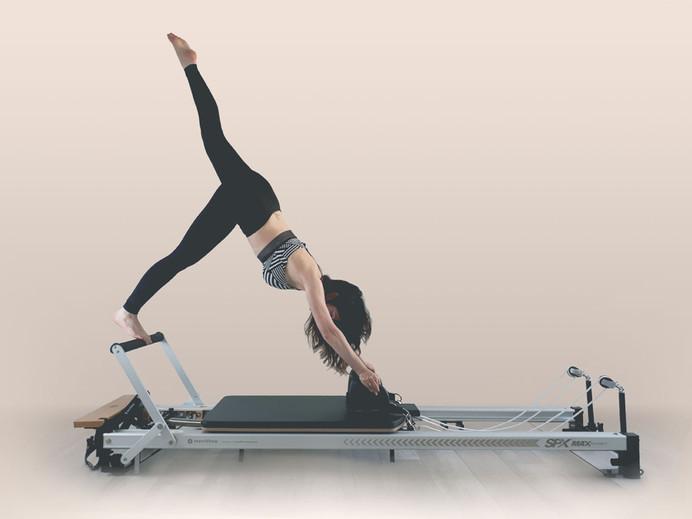 Pilates reformer exercise