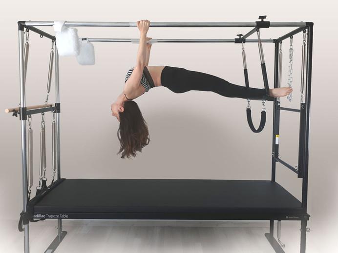 Pilates Cadillac exercise