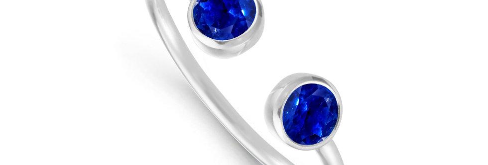 GAIA 14kt white gold - Sapphire, Ruby, Emerald