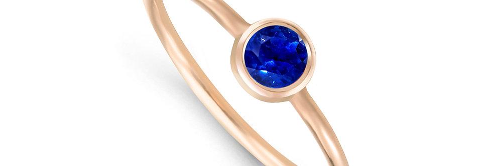 AMALIA 14kt rosé gold - Sapphire, Ruby, Emerald