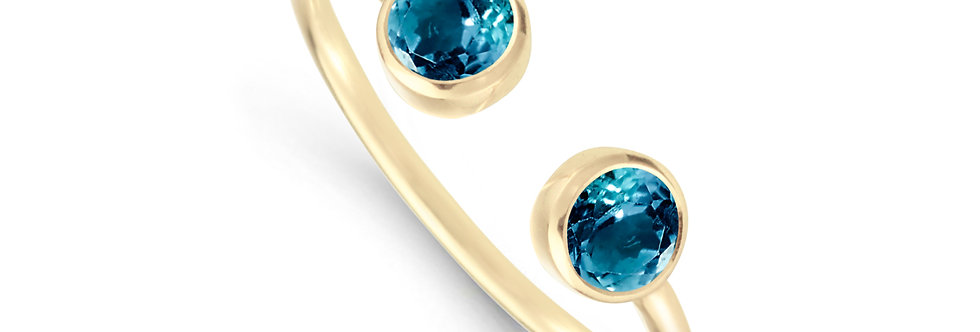 GAIA 14kt yellow gold - different stone options