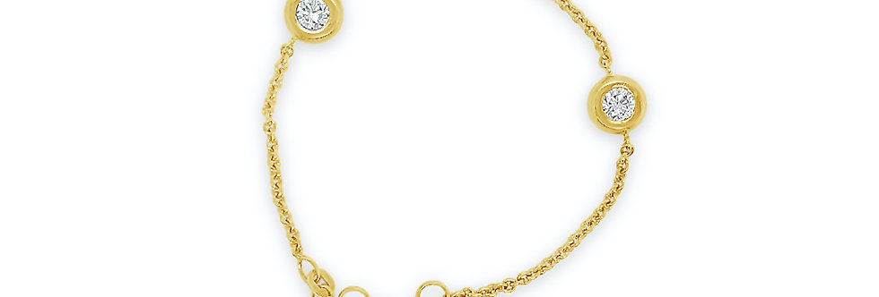 Bracelet CECILIA 14kt yellow gold