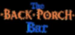 Back Porch Logo (Transparent Background)