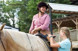 Horses bring happiness