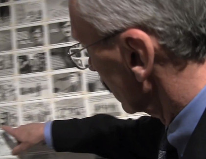 David W. Wirick at the PAFA Annual Student Exhibition