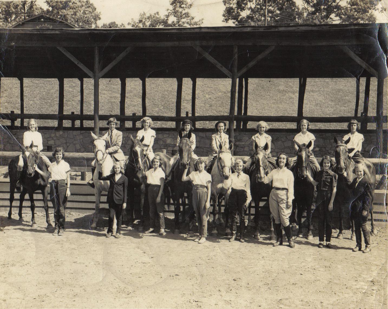 McAlpin School Group in 1950s