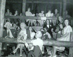 Social Gathering in the 40's