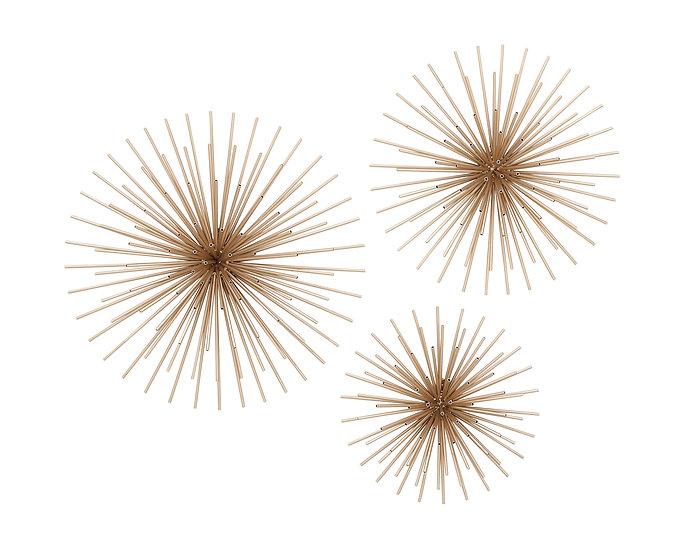 Set de 3 decorativos de pared 44562