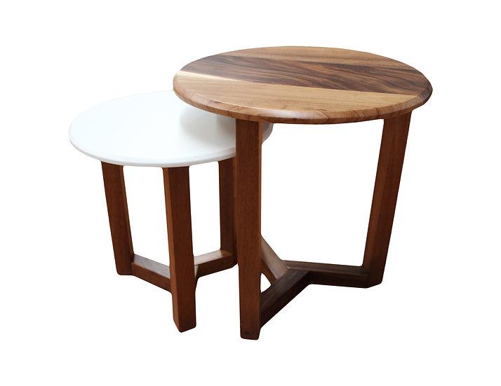 Juego 2 mesas laterales Ronda