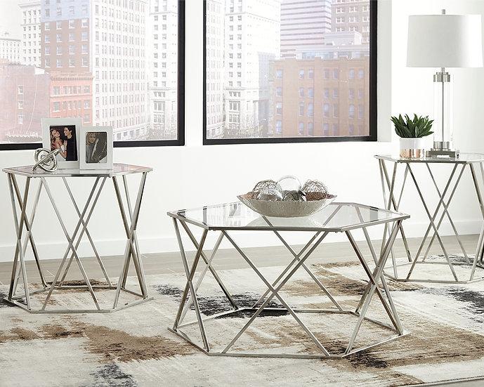 Juego de 3 Mesas ocasionales T015-13. Ashley Furniture.