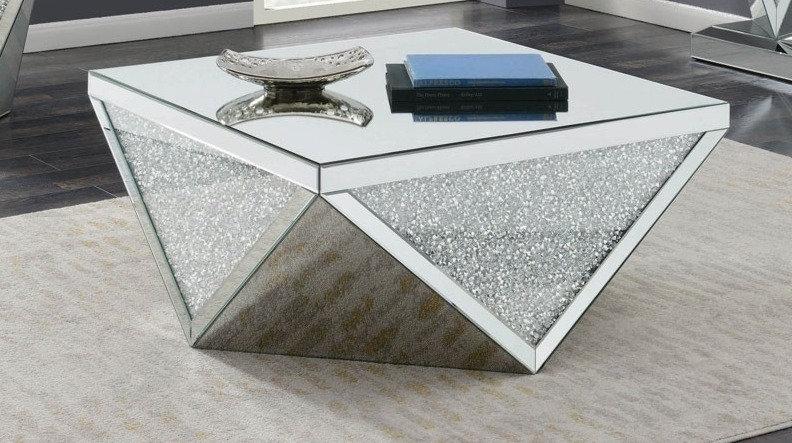 Mesa de centro de espejo GD-FN0058