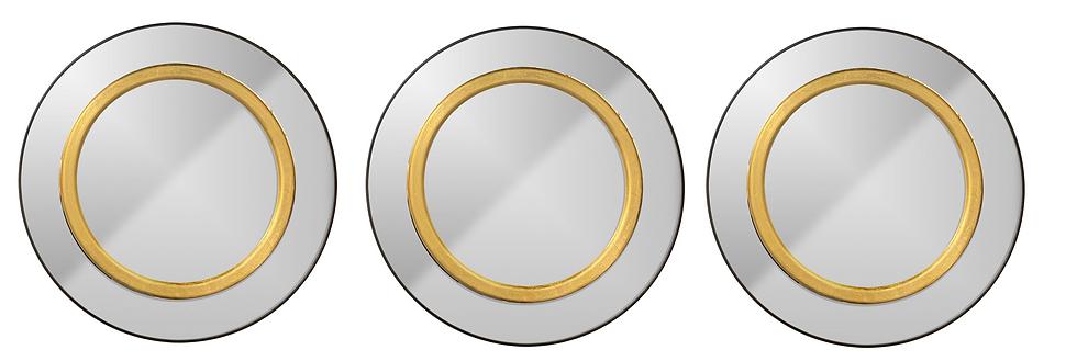 Set de 3 espejos redondo CAE111