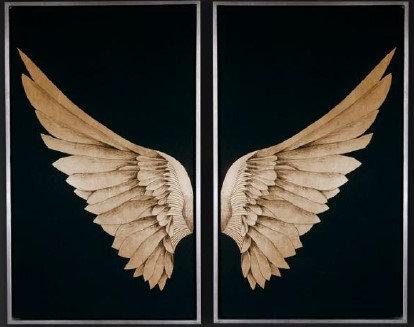Set de 2 cuadros decorativo CA110