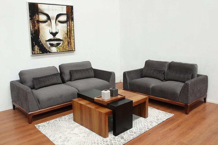 Sala 3-2 Sofá y Love seat Linen Boal