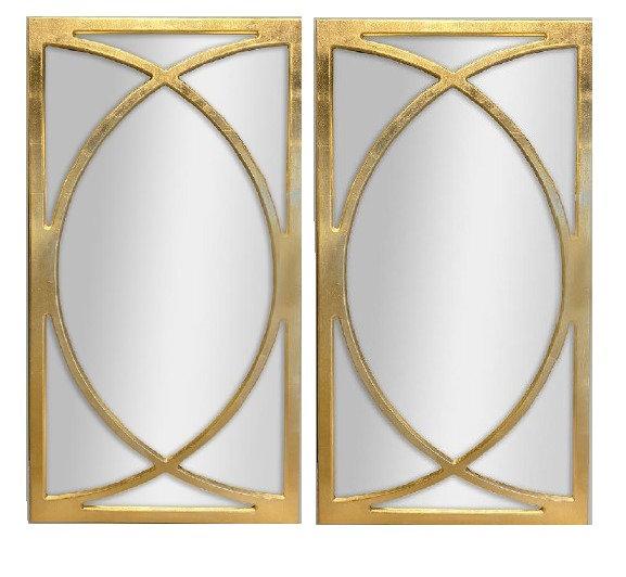 Set de 2 espejos decorativos CAE123